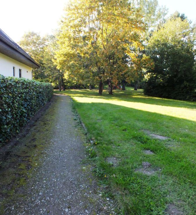 Weg zum Hauseingang