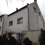 Rückseite des Hauses
