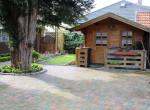 Gartenhaus mit Fahrradraum