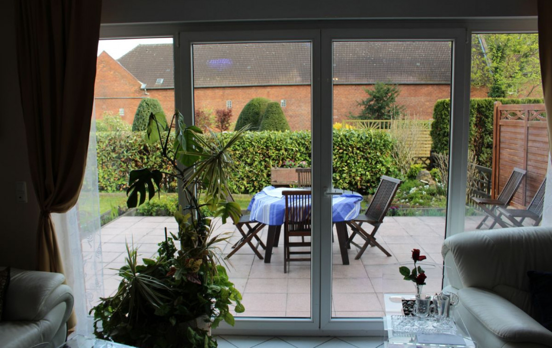 EG Wohnesszimmer Blick zur Terrasse
