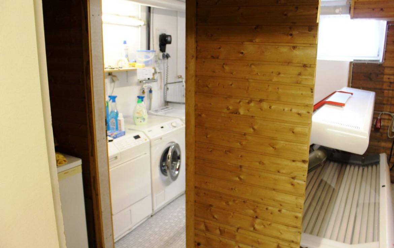 Keller Waschraum und Solarium