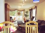 Wohnzimmer aus Essbereich