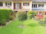 Rückseite mit Garten
