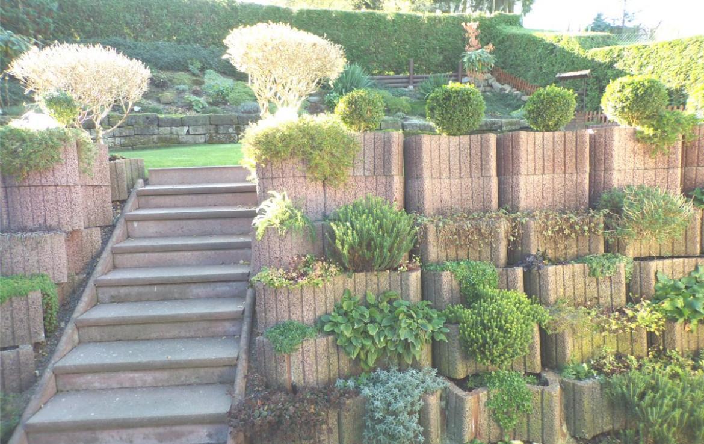 Terrassen Garten
