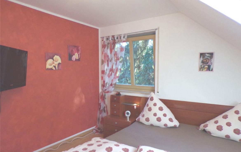 Schlafzimmer - TV Bereich