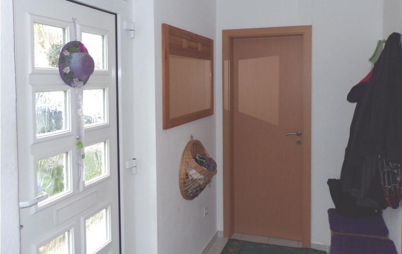 Eingang mit Windfang
