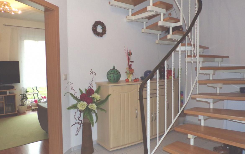 Treppenflur zum Obergeschoss
