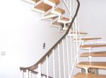 Treppenflur zum Dachgeschoss