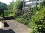 kleine Gartenvorterrasse