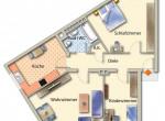 Wohnungs-Grundriss