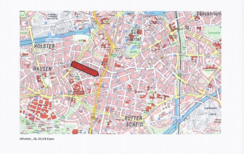Stadtplan-Ausschnitt