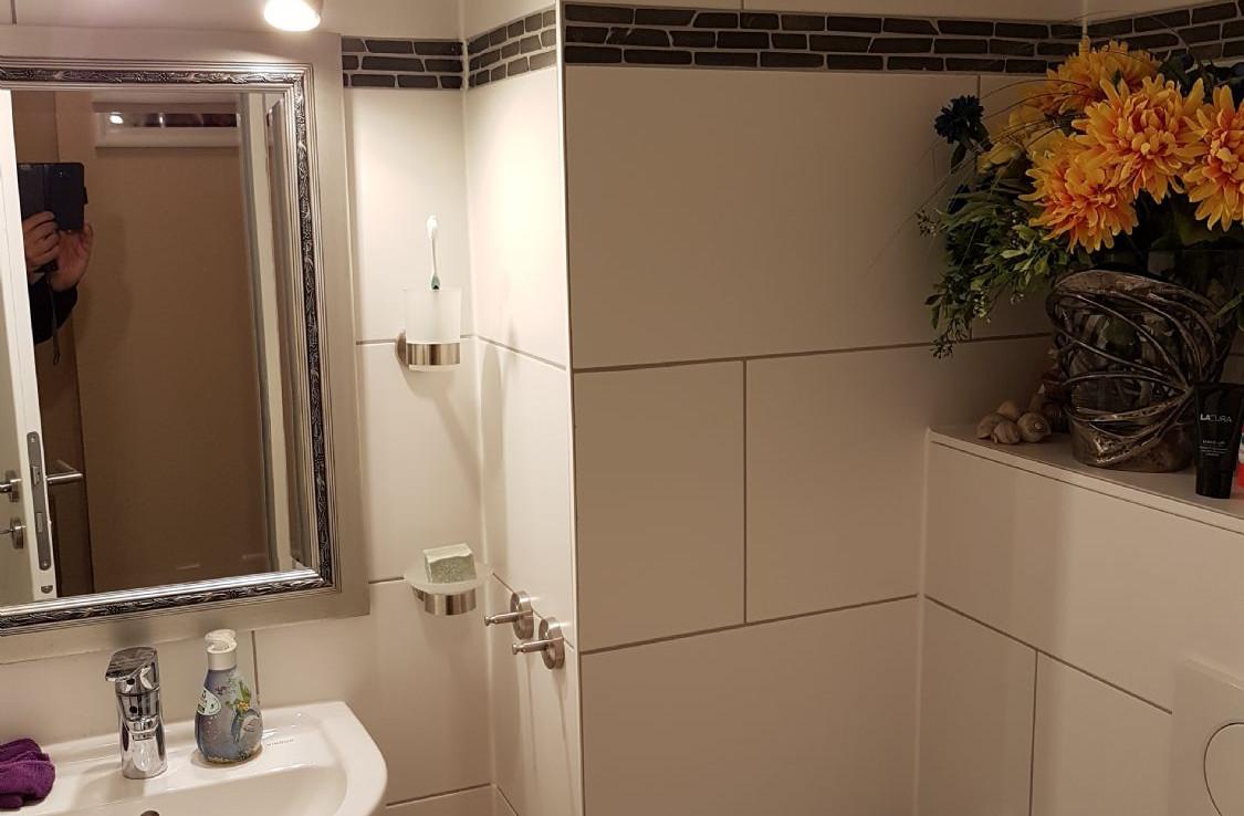 G-WC mit Dusche