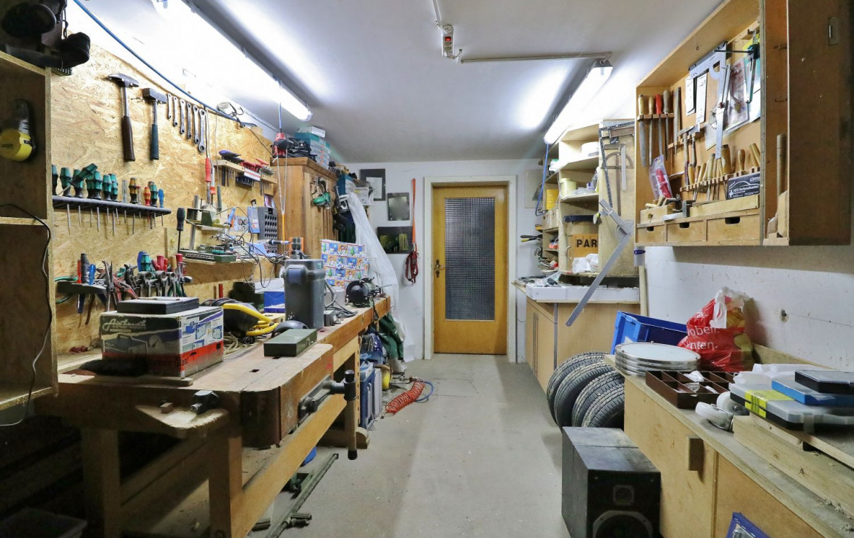 Kellergeschoss - Werkstatt