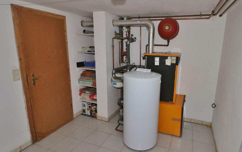 Heizungsraum mit Gasheizung