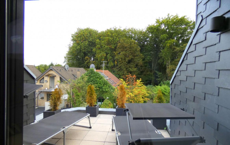 kleine Terrasse Büro