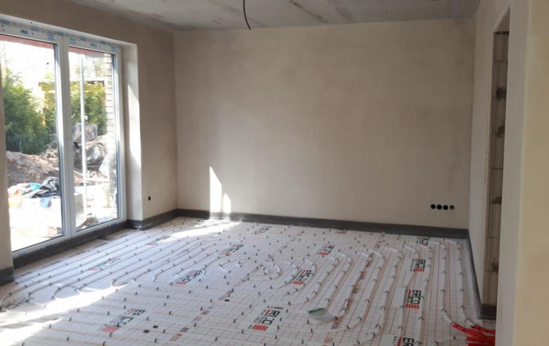 Innenraumen mit Bodenheizung