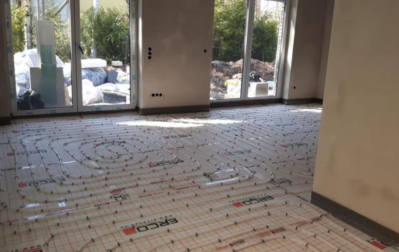 Innenraum mit Bodenheizung