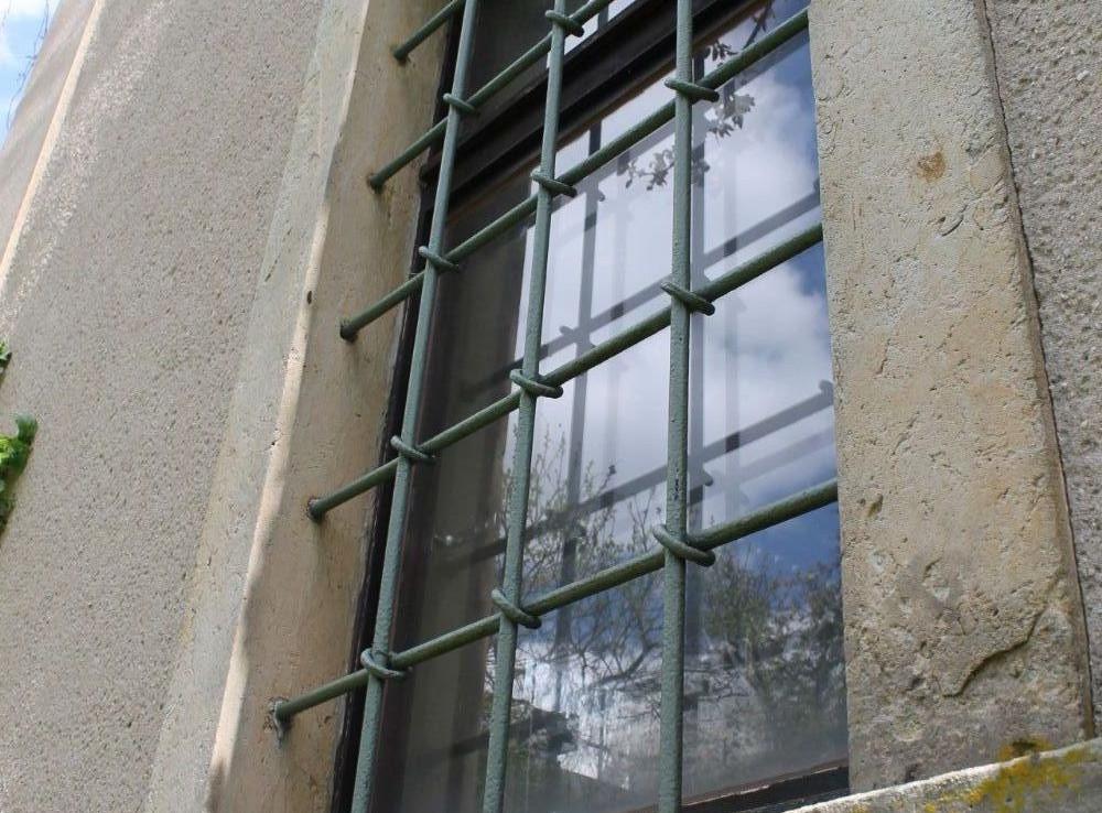 Detail Fenstergitter KG und EG