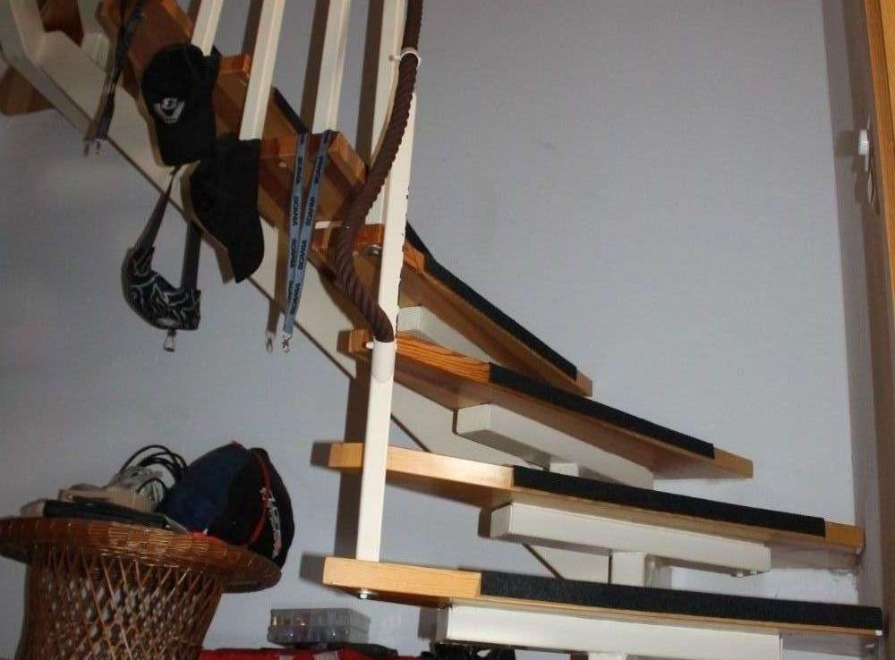 Treppe in der Maisonettewohnung